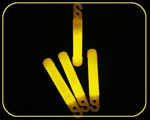 4 Zoll GlowSticks Ø 12 mm, 10 cm lang, gelb – Bild 4