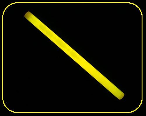 """10"""" BIG Styk Leuchtstab 25 cm Ø 15mm gelb – Bild 1"""