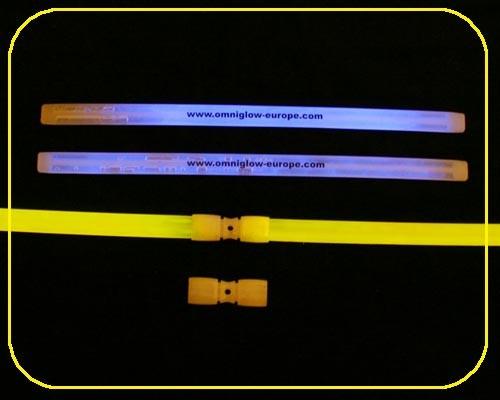 VIP Armbänder gelb 25 Stück – Bild 5