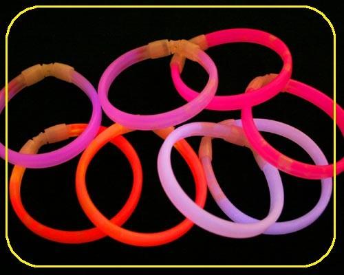 VIP Armbänder pink 25 Stück – Bild 2