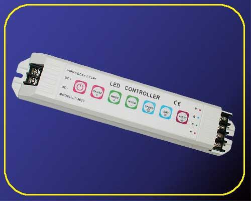 Flex Serie RGB Touch Controller 12/24 V ohne Fernbed. max. 432 W – Bild 1