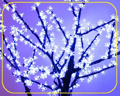 LED Baum 150 cm blau, 26 Watt 432 LEDs – Bild 3