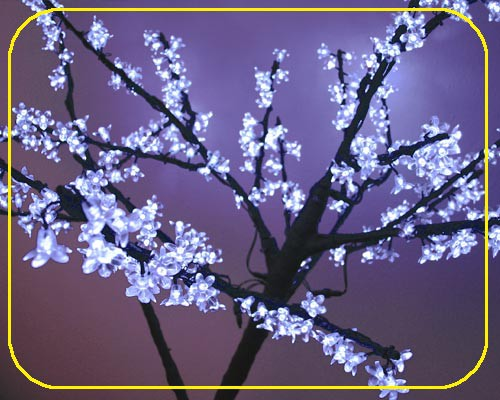 LED Baum 150 cm weiß, 26 Watt, 432 LEDs  – Bild 3