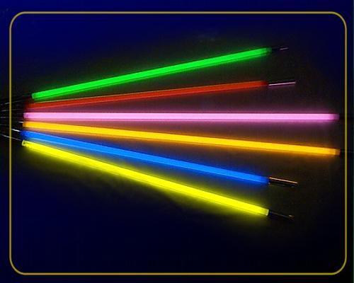 Deko Leuchtstab 18 Watt 230 V grün – Bild 2