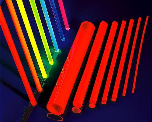 1 m fluo LISA® Acrylstab XT Ø 4 mm blau – Bild 4