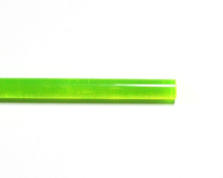1 m LISA® Acrylstab XT fluo grün Ø 10 mm – Bild 1