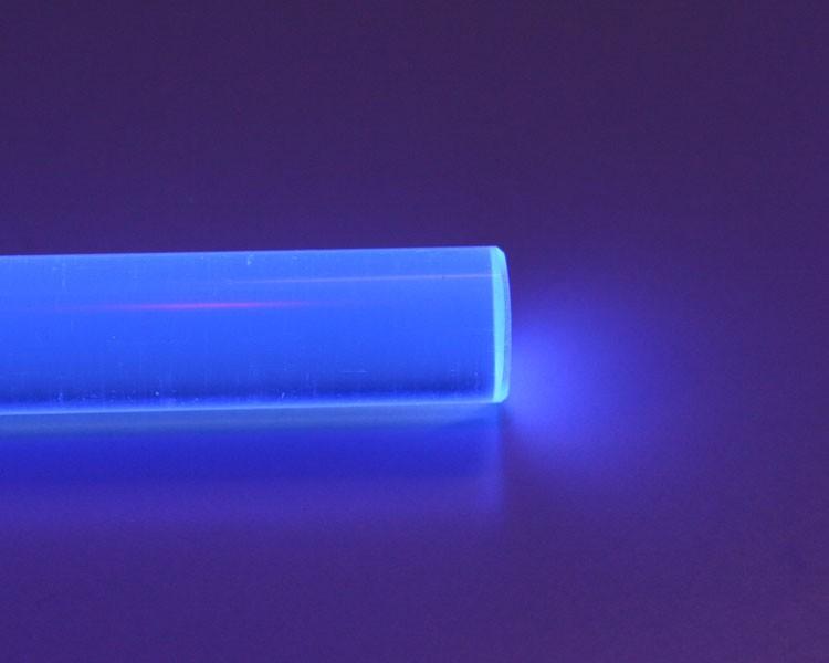 1 m LISA® Acrylstab XT fluo blau Ø 15 mm – Bild 3