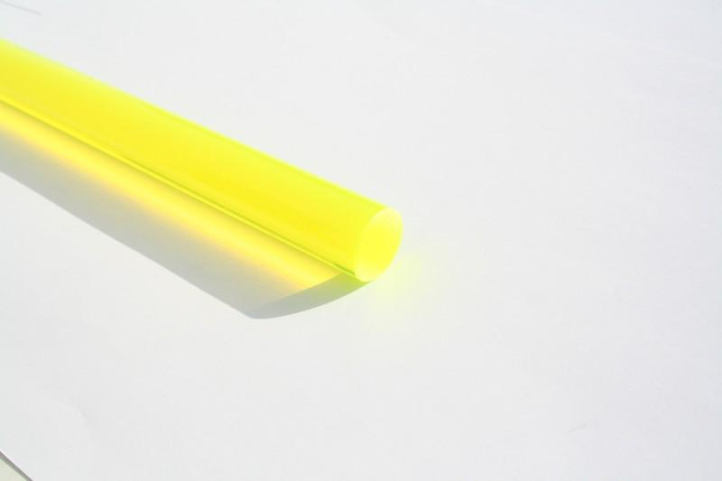 1 m LISA® Acrylstab XT fluo grün Ø 15 mm – Bild 1