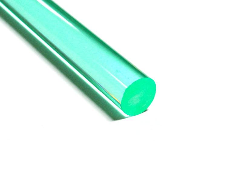 1 m LISA® Acrylstab XT fluo türkis Ø 15 mm – Bild 1