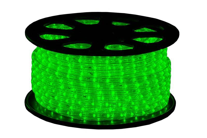 LED Lichtschlauch Premium Grün | 51m Rolle – Bild 1
