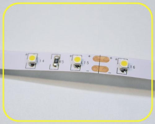 LED Streifen 5cm | Warmweiß  | 12V 0,24W IP20 | 3 LEDs | dimmbar – Bild 1