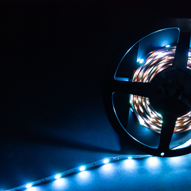 LED Streifen 10cm | RGB  | 12V 0,72W IP20 | 3 LEDs | dimmbar – Bild 13