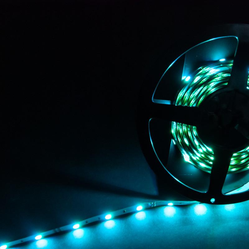 LED Streifen 10cm   RGB    12V 0,72W IP20   3 LEDs   dimmbar – Bild 10
