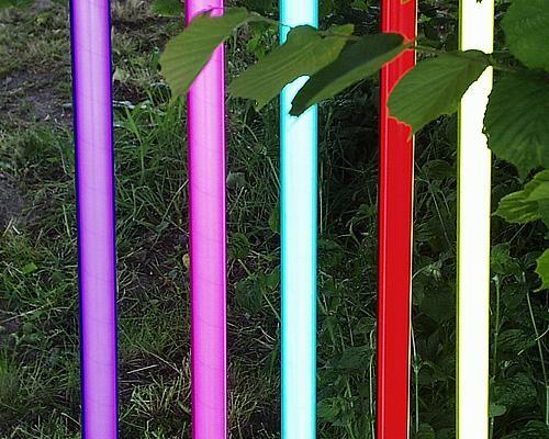Deko Leuchtstab 36 Watt 230 V pink – Bild 1