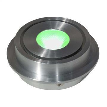 LED Einbaustrahler Universal Alu 2,5W | Grün | 50mm