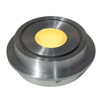 LED Einbaustrahler Universal Alu 2,5W | Gelb | 50mm