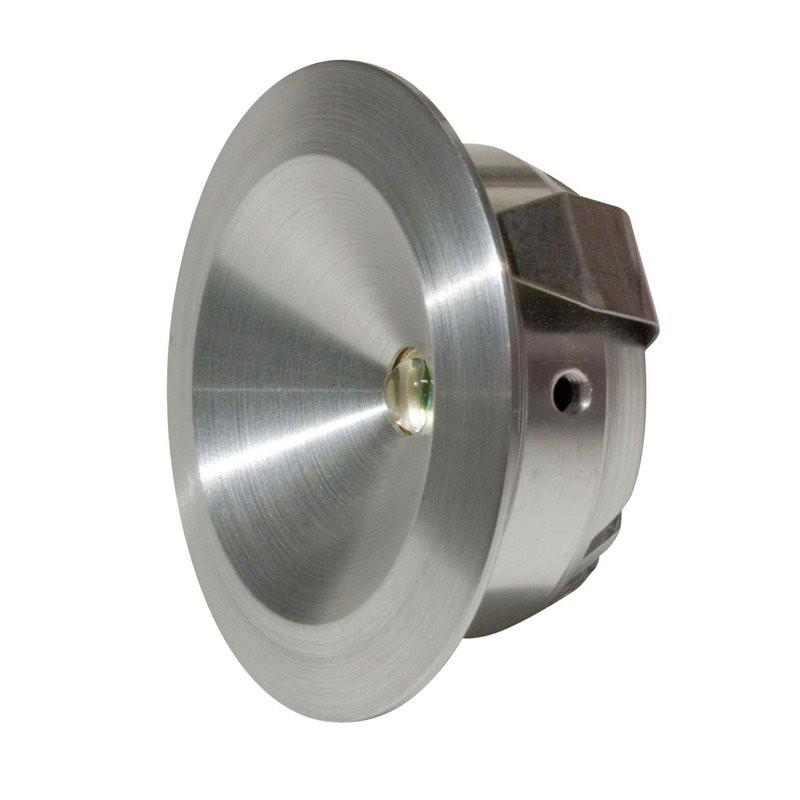 LED Möbel Einbaustrahler Alu 2,5W | 700mA | 3000K | 129lm| 42mm – Bild 2