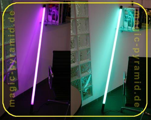Deko Leuchtstab 58 Watt 230 V, IP20 violett