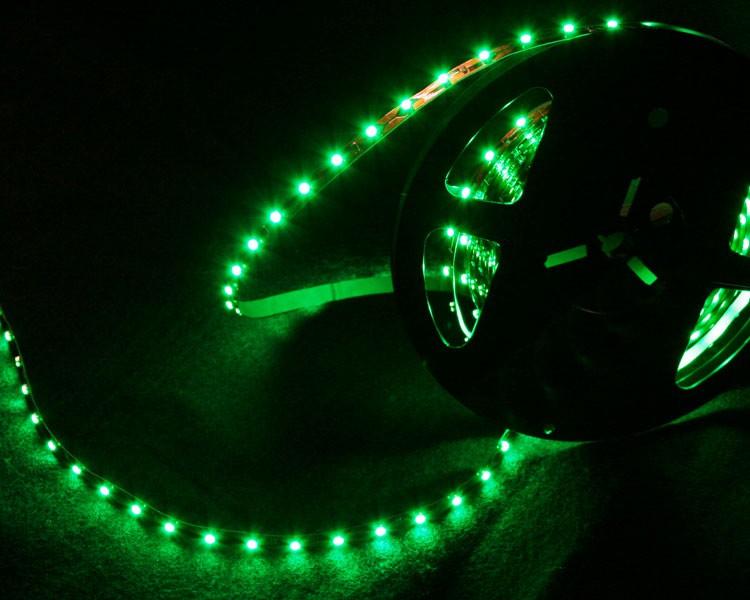 LED Streifen 5cm | Grün  | 12V 0,24W IP20 | 3 LEDs | dimmbar – Bild 3