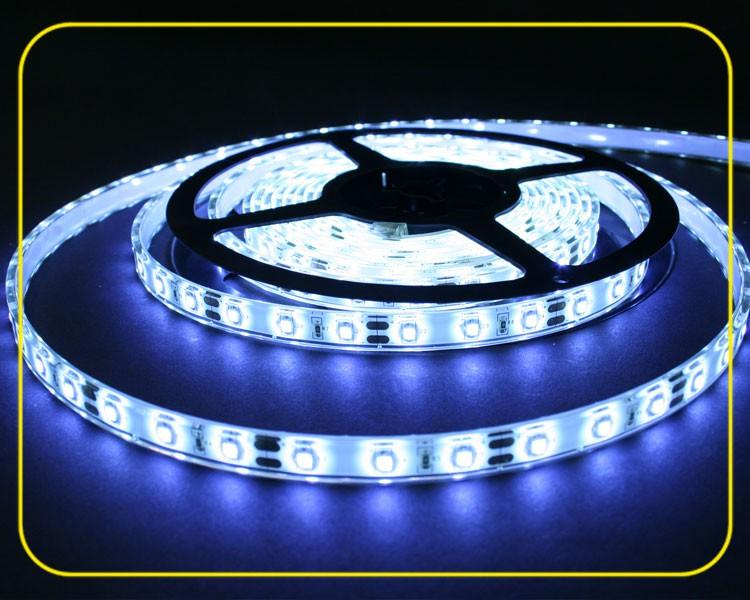 LED Streifen 5m | Kaltweiß  | 12V 24W IP65 | 300 LEDs | dimmbar – Bild 1