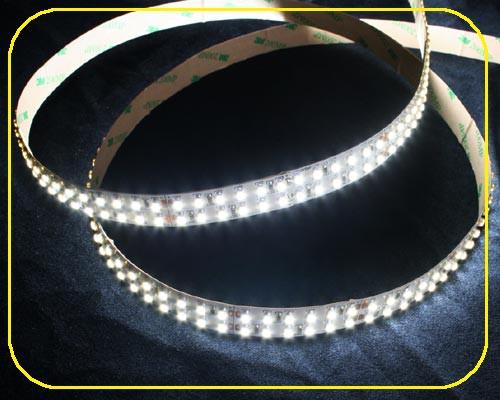 LED Streifen 5m | Kaltweiß  | 24V 96W IP20 | 1200 doppeltliegenden LEDs | dimmbar – Bild 1