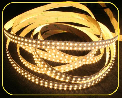 LED Streifen 5m | Warmweiß  | 24V 96W IP20 | 1200 doppeltliegenden LEDs | dimmbar – Bild 1