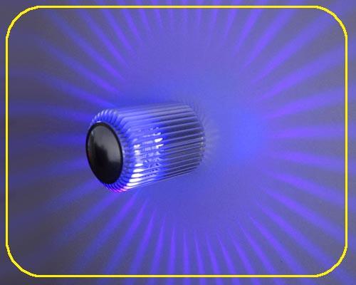LED Wandlampe PLUTO Blau 1W 12V IP20 – Bild 1