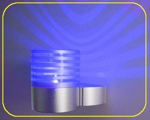 LED Wandlampe TERRA Blau 1W 12V IP20 – Bild 1