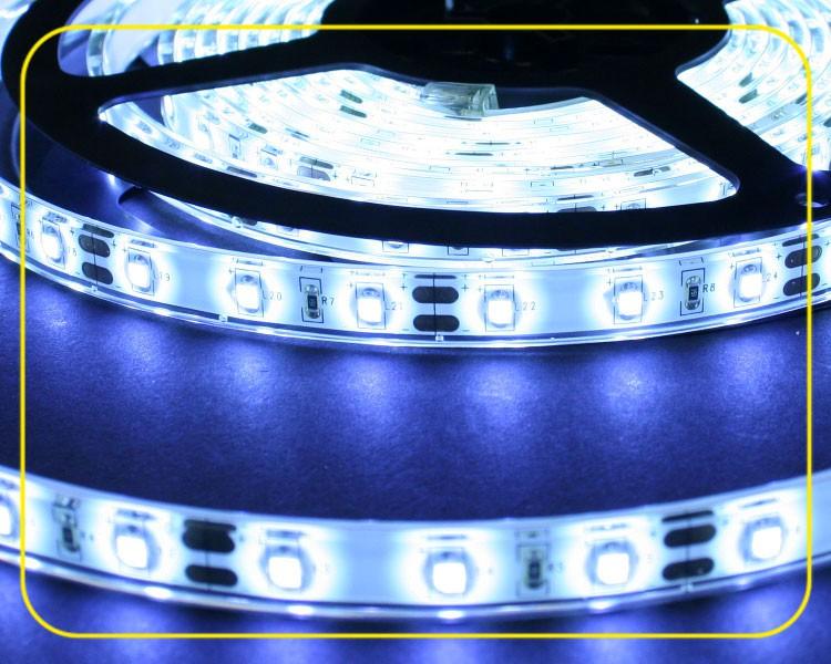 IP65 LED Streifen 5cm | Kaltweiß | 12V 0,24W | dimmbar – Bild 3