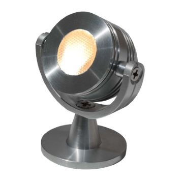 LED Einzelspot | Alu Drehbar | 2.5 Watt | Warmweiß+ 2700 K | 129lm