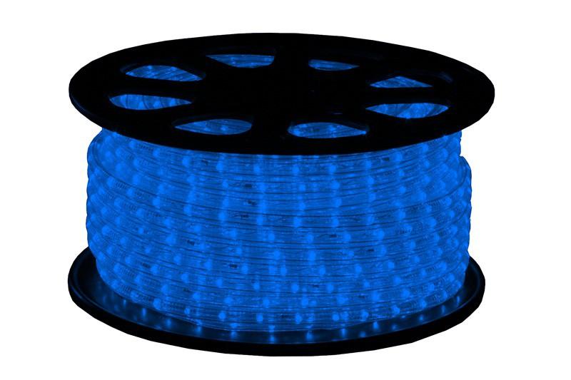 LED Lichtschlauch Premium Blau | 51m Rolle | Dimmbar IP44 | 230V