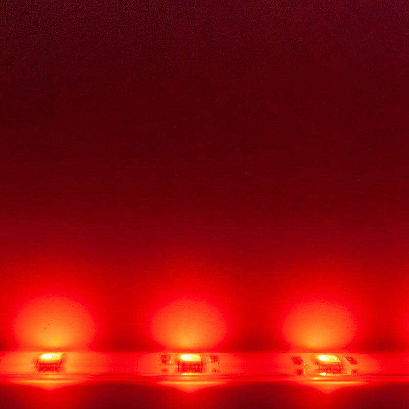 RGB Streifen 10cm | 7,2W/m | 12V IP65 | dimmbar – Bild 8