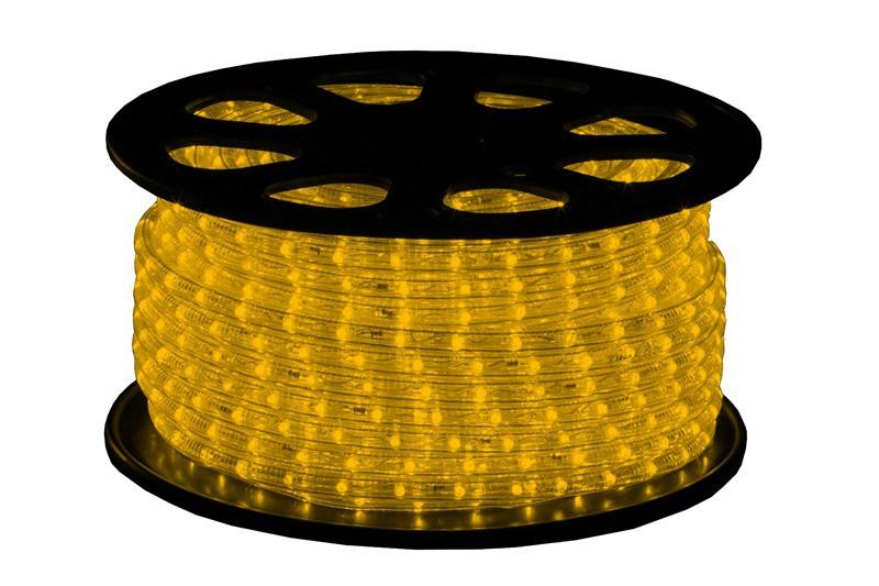 LED Lichtschlauch Premium Gelb | 50m Rolle | IP44 Dimmbar | 230V