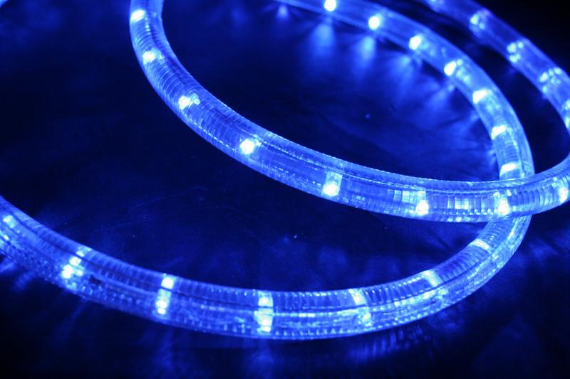 230V | LED Lichtschlauch Premium Blau | 150cm Abschnitt | Dimmbar IP44 – Bild 2