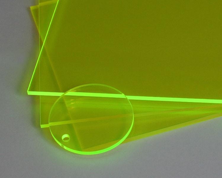 Lucy Platte 3mm | 675x504 mm | fluoresz. grün – Bild 3