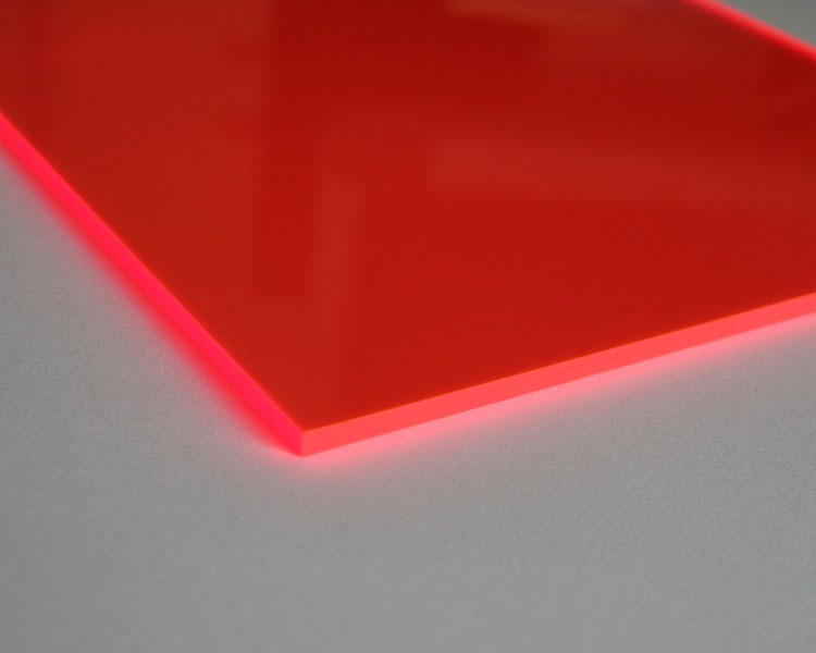 Lucy Platte 3mm | 675x504 mm | fluoresz. orange – Bild 3