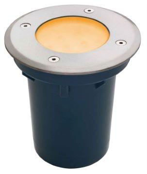 LED Bodeneinbau Spot 12 V Gelb IP67