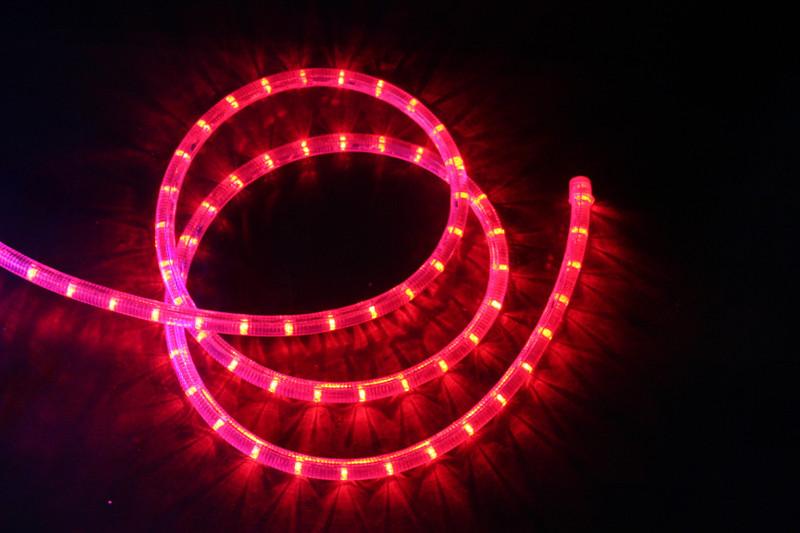 LED Lichtschlauch Premium Rot | 50m Rolle  – Bild 3
