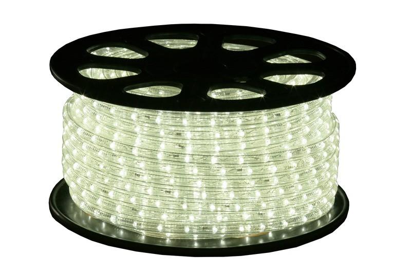 LED Lichtschlauch Premium Weiß | 51m Rolle | Dimmbar IP44 | 230V