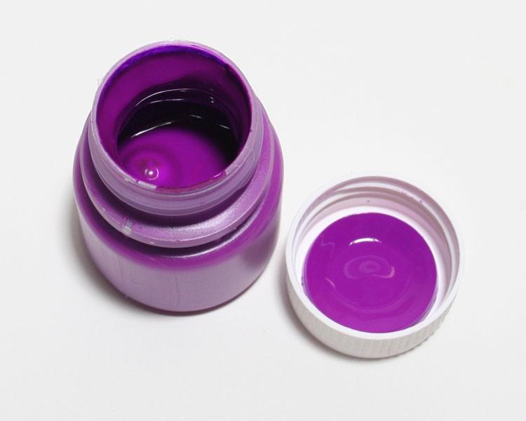 Tagesleucht Dispersionsfarbe fluo 60 ml violett – Bild 1