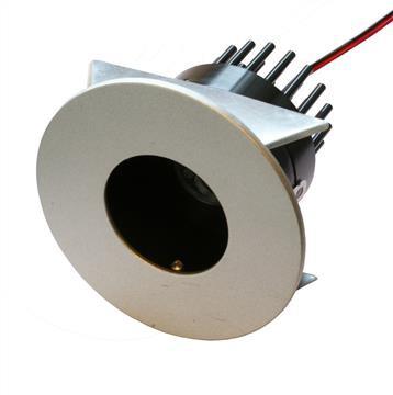 LED Einbaustrahler Downlight 7,5W | Warmweiß 3000K 387lm | Rund – Bild 1