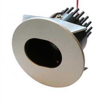 LED Einbaustrahler Downlight 7,5W | Warmweiß 3000K 387lm | Oval | Verstellbar – Bild 1