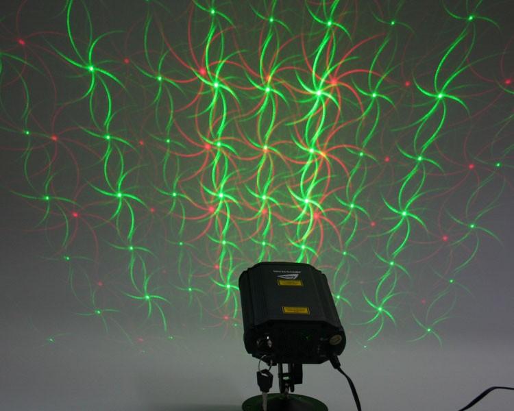 Micro Quasar Laser, Plug+Play, 40mW grün, 100mW rot, Erfüllt die EN/IEC 60825-1 für Lasersicherheit – Bild 1