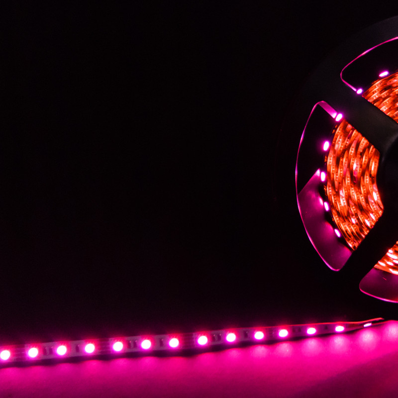 RGB Streifen 5m | 14,4W/m  | 24V IP20 | dimmbar – Bild 1