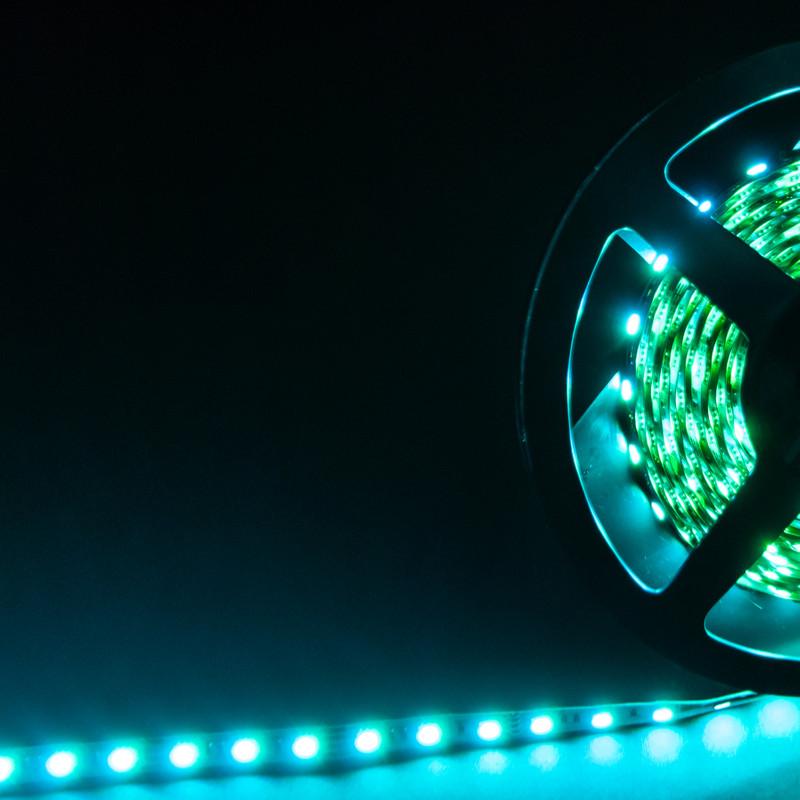 RGB Streifen 5m | 14,4W/m  | 24V IP20 | dimmbar – Bild 6