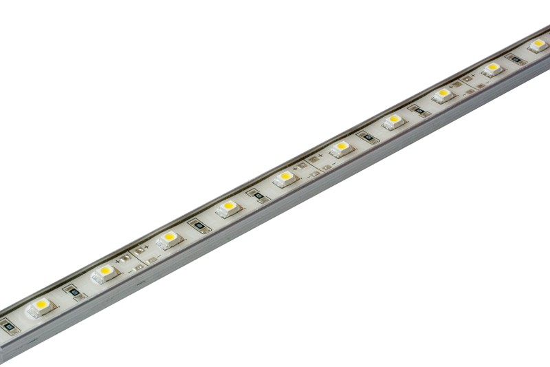 Light Bar Alu 520x10x6mm rot 30 LEDs 12 V