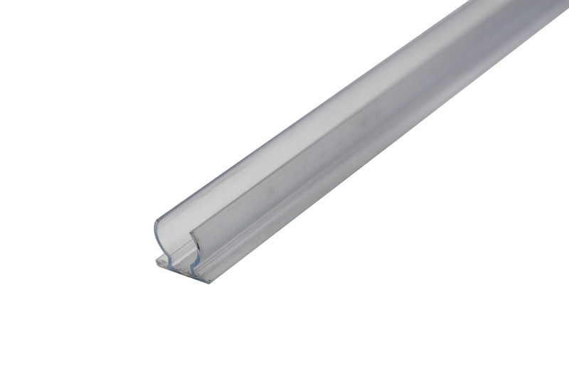 2 m Kunststoffprofil für Ø 13 mm Lichtschlauch