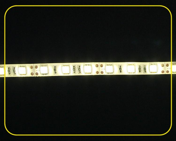 IP44 LED Streifen 5m | Warmweiß  | 12V 72W | 300 LEDs | dimmbar – Bild 2