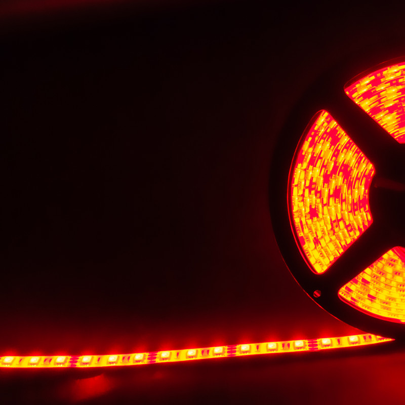 RGB Streifen 5m | 14,4W/m | 12V IP44 | dimmbar – Bild 1