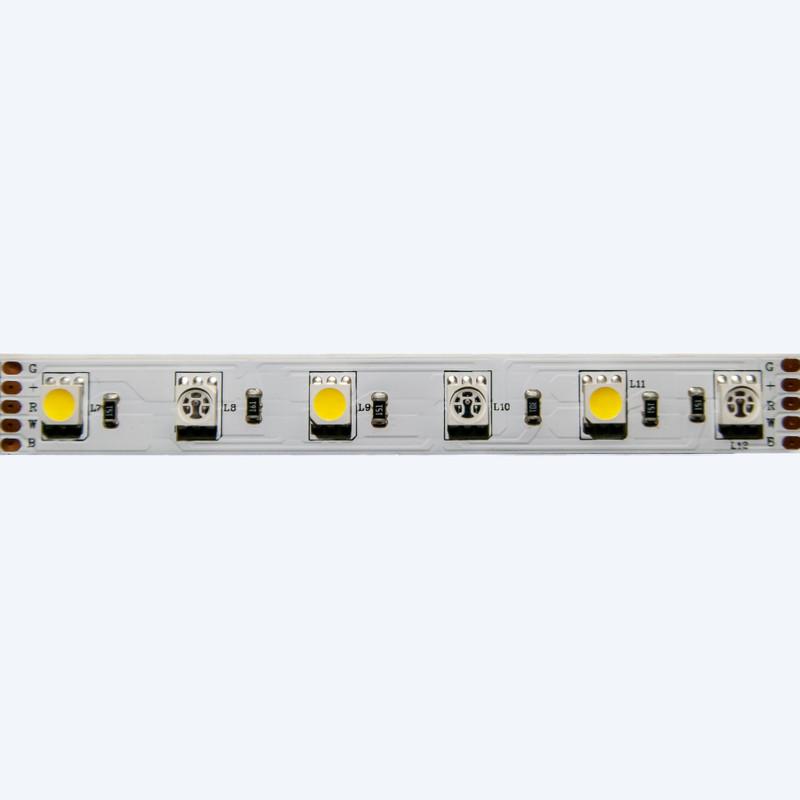 LED Streifen 5m | RGB-Weiß  | 12V 72W IP20 | dimmbar – Bild 12